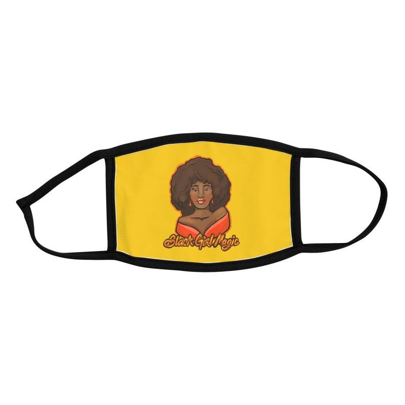 Black Girl Magic Accessories Face Mask by CosmicMedium's Artist Shop