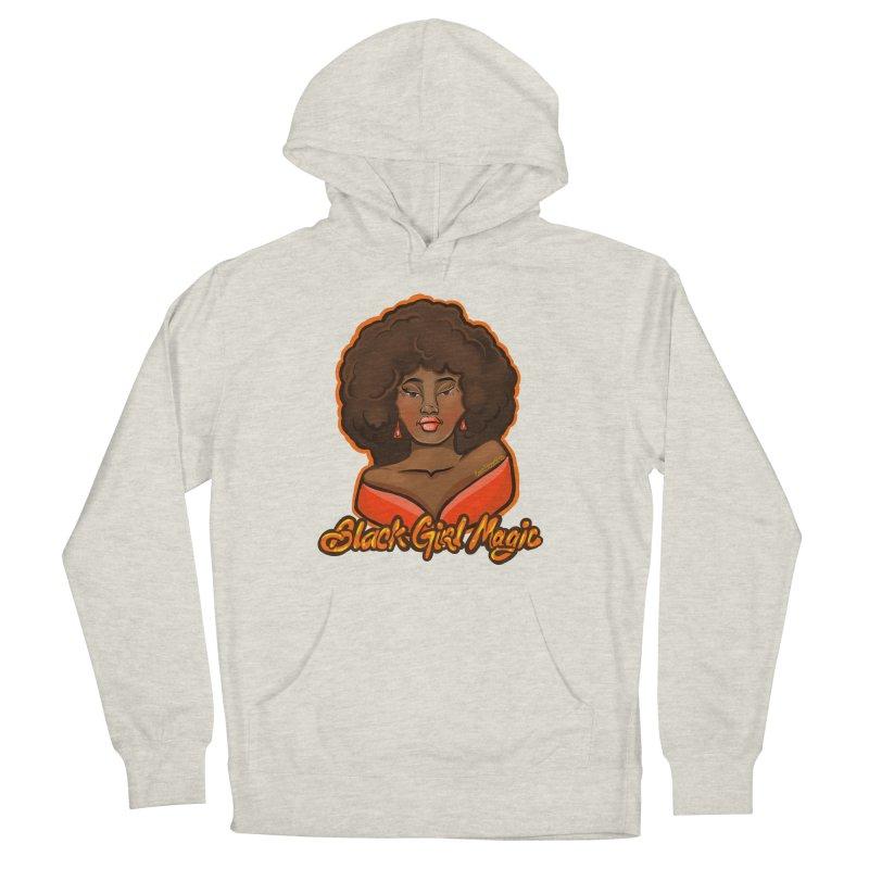 Black Girl Magic Women's Pullover Hoody by CosmicMedium's Artist Shop