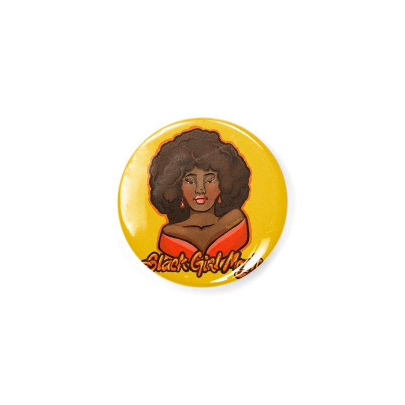 Black Girl Magic Accessories Button by CosmicMedium's Artist Shop