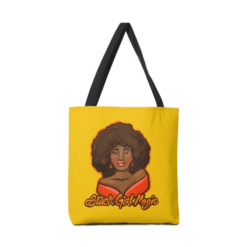 Black Girl Magic Accessories Bag by CosmicMedium's Artist Shop
