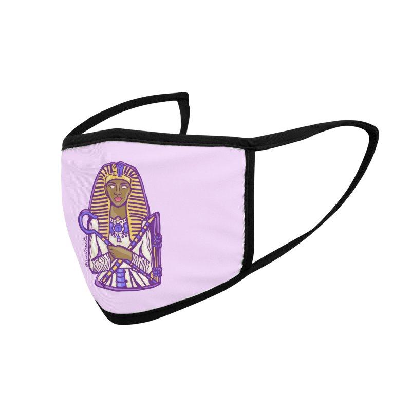 Queen Pharoh Hatshepsut Accessories Face Mask by CosmicMedium's Artist Shop