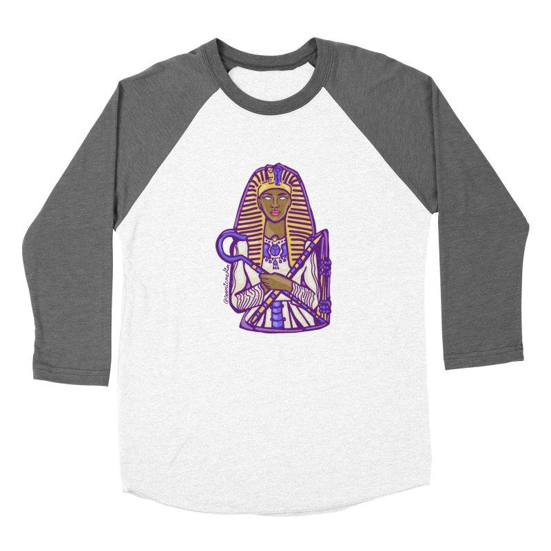 Queen Pharoh Hatshepsut Women's Longsleeve T-Shirt by CosmicMedium's Artist Shop