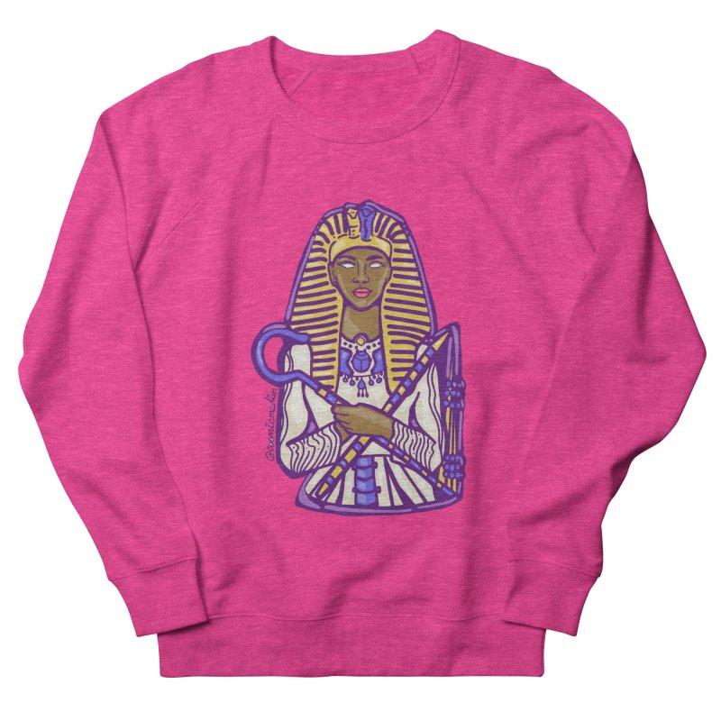 Queen Pharoh Hatshepsut Women's Sweatshirt by CosmicMedium's Artist Shop