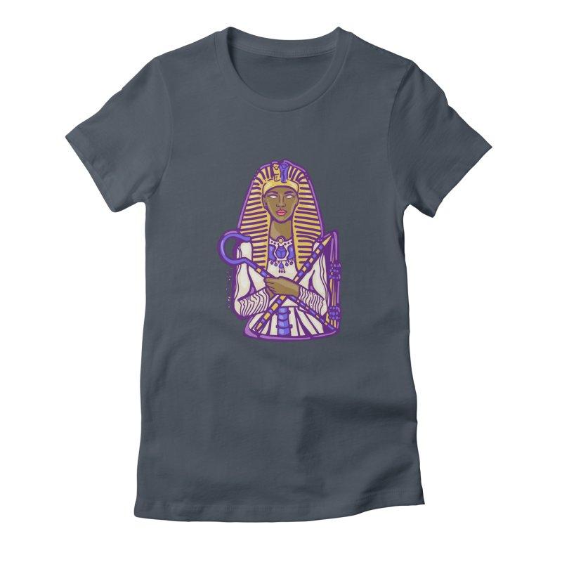 Queen Pharoh Hatshepsut Women's T-Shirt by CosmicMedium's Artist Shop