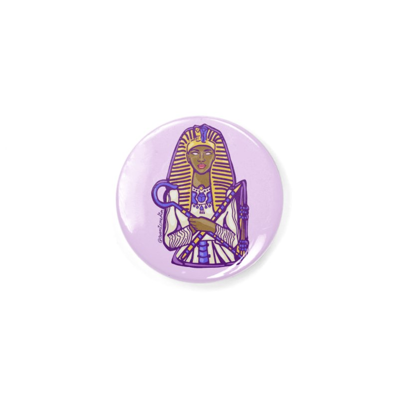 Queen Pharoh Hatshepsut Accessories Button by CosmicMedium's Artist Shop
