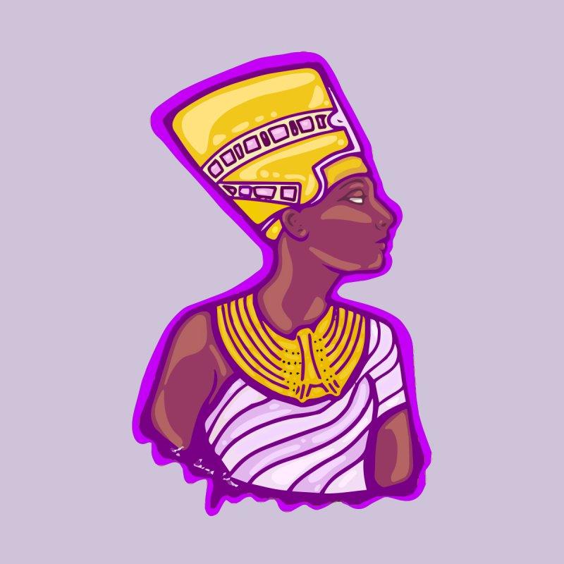 Queen Nefertiti Women's Longsleeve T-Shirt by CosmicMedium's Artist Shop