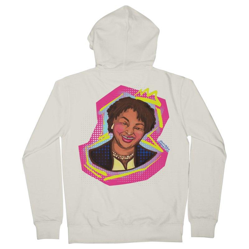 Queen Abrams Men's Zip-Up Hoody by CosmicMedium's Artist Shop
