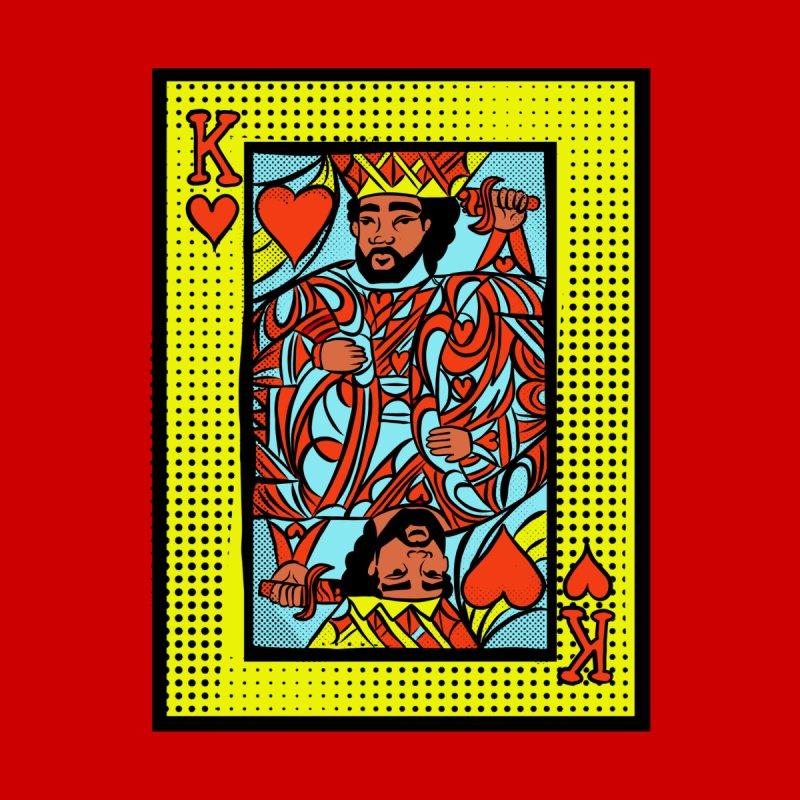 King of hearts Men's T-Shirt by CosmicMedium's Artist Shop