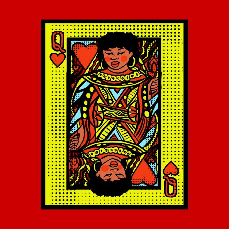 Queen of hearts Men's T-Shirt by CosmicMedium's Artist Shop