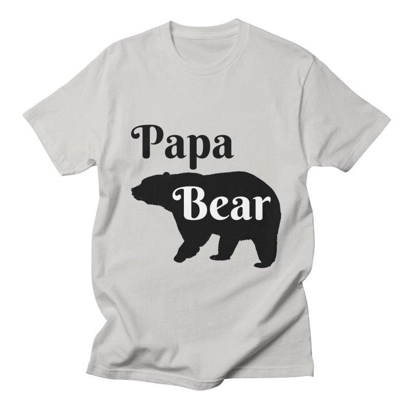 Papa Bear (Light) Men's T-shirt by CraftyFarmhouse's Artist Shop