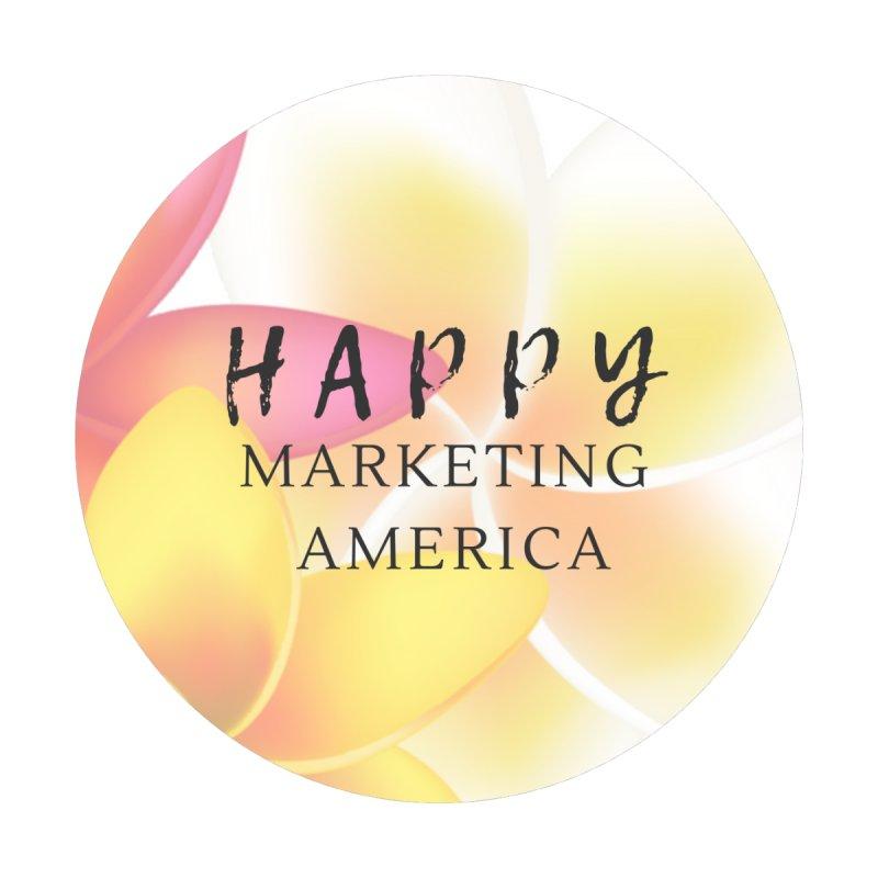 Happy Marketing America Merch Women's T-Shirt by CreationsByHMA