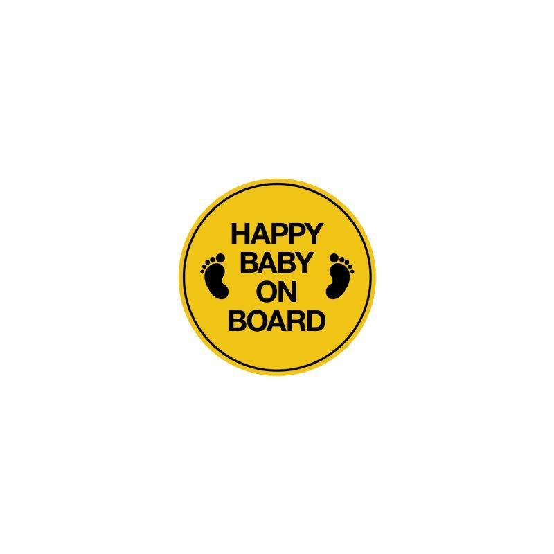 Happy Baby On Board by Creative Satchel Shop