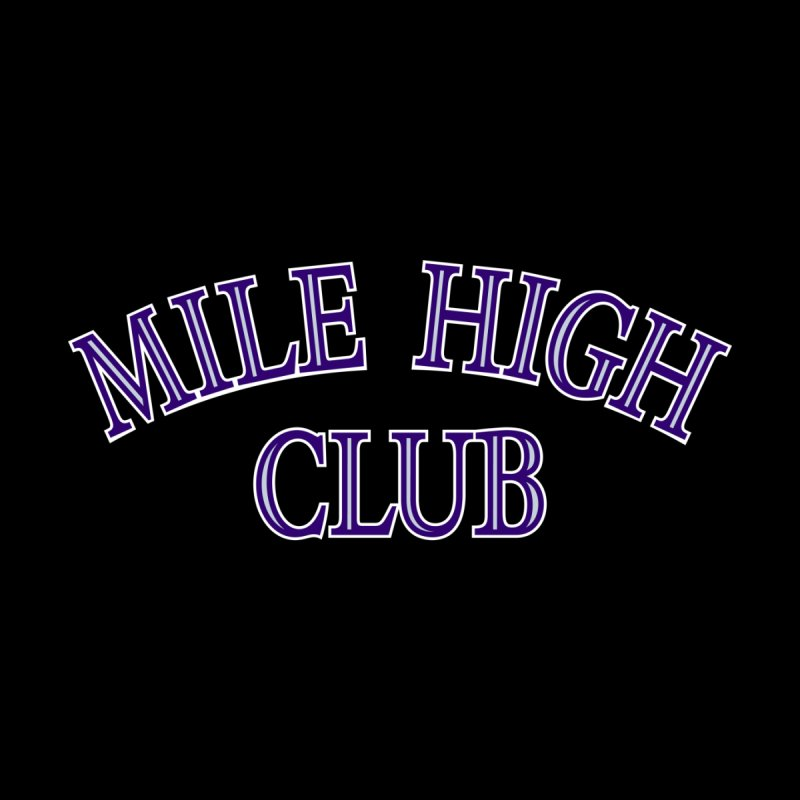 Mile High Club (Colorado) Men's T-Shirt by Creative Satchel Shop