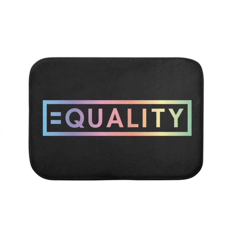 Equality (Spectrum) Home Bath Mat by Creative Satchel Shop
