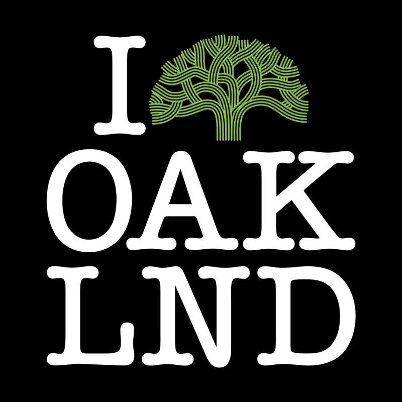 I Love Oakland (Tree Logo) by Creative Satchel Shop