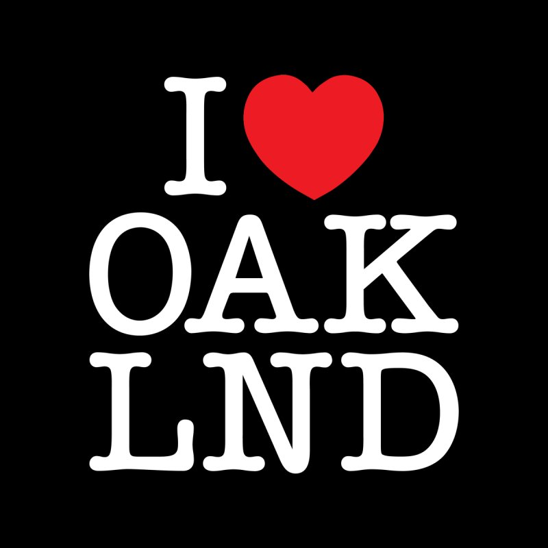 I Love Oakland by Creative Satchel Shop