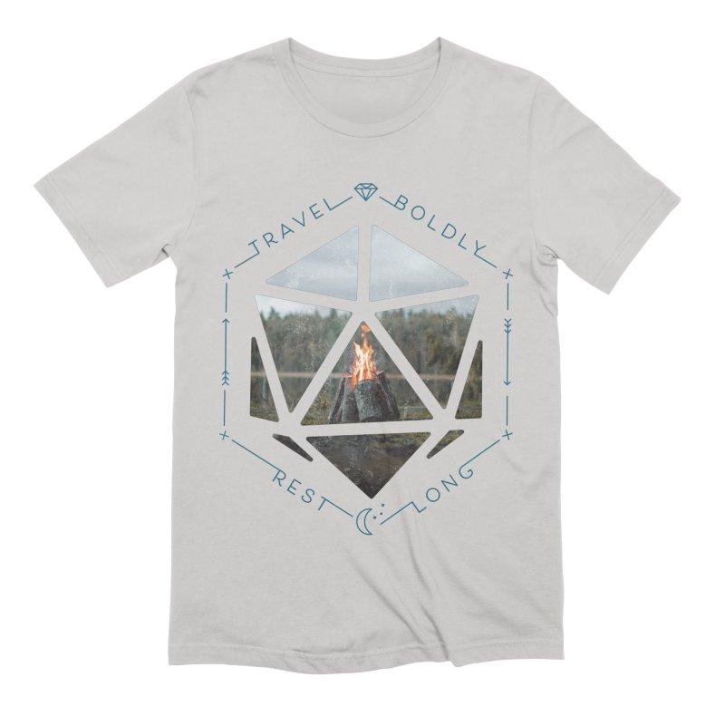 Rest Long Men's T-Shirt by Critical Shoppe