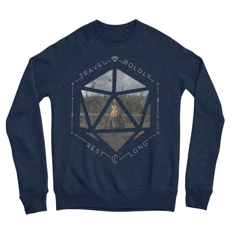 Rest Long Dark Men's Sweatshirt by Critical Shoppe