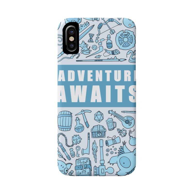 Adventure Awaits Accessories Phone Case by Critical Shoppe