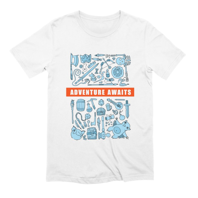 Adventure Awaits Men's T-Shirt by Critical Shoppe