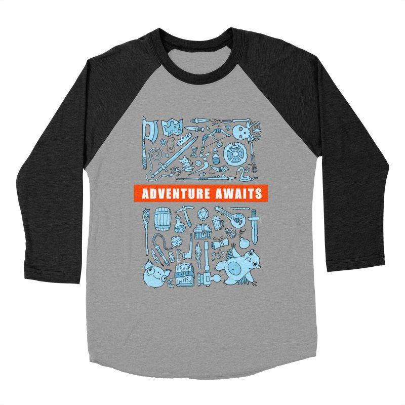 Adventure Awaits Men's Longsleeve T-Shirt by Critical Shoppe