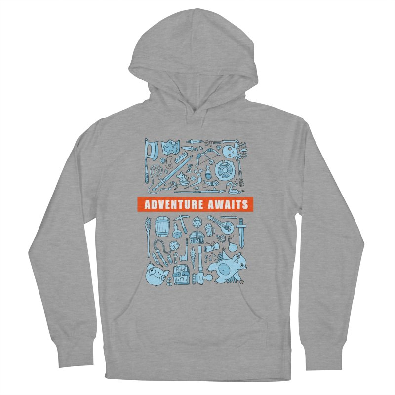 Adventure Awaits Men's Pullover Hoody by Critical Shoppe
