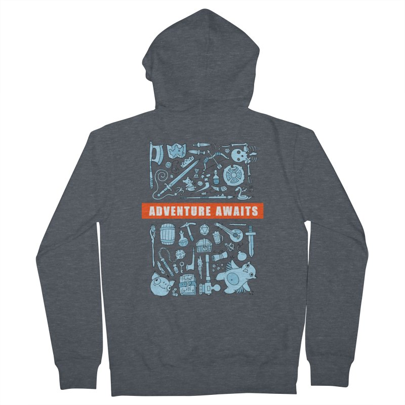 Adventure Awaits Women's French Terry Zip-Up Hoody by Critical Shoppe