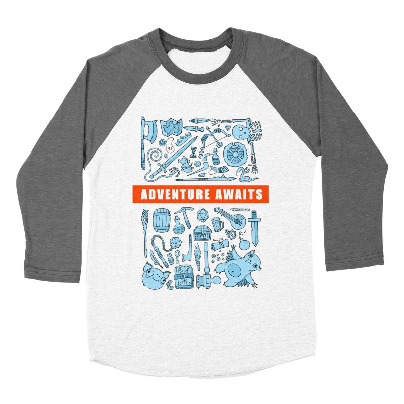 Adventure Awaits Men's Baseball Triblend T-Shirt by Critical Shoppe