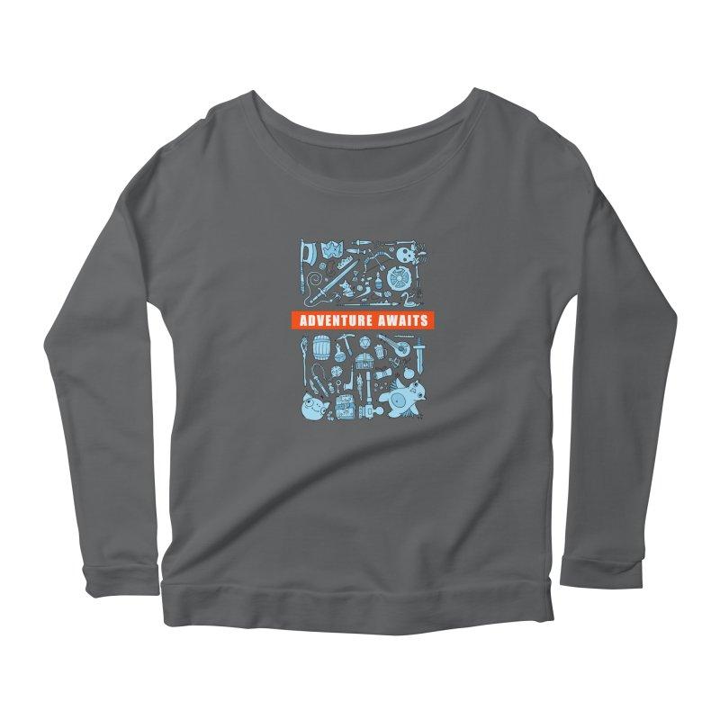 Adventure Awaits Women's Longsleeve T-Shirt by Critical Shoppe