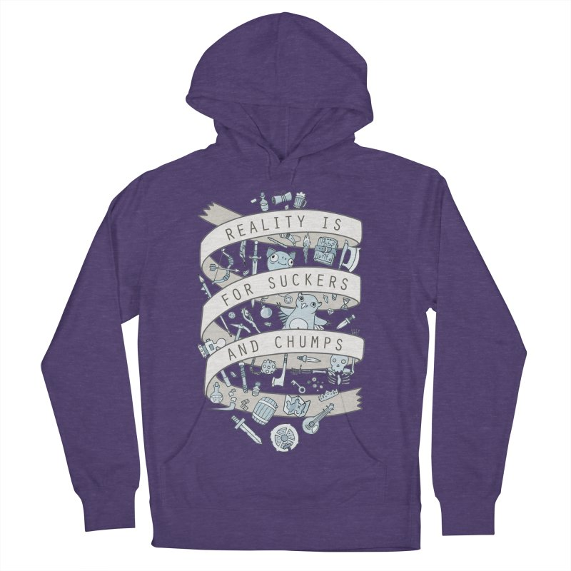 Fantasy is for Winners Men's Pullover Hoody by Critical Shoppe