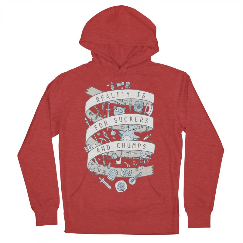 Fantasy is for Winners Men's French Terry Pullover Hoody by Critical Shoppe
