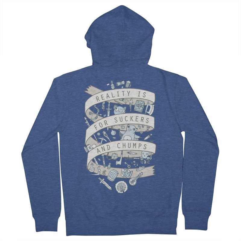 Fantasy is for Winners Men's French Terry Zip-Up Hoody by Critical Shoppe