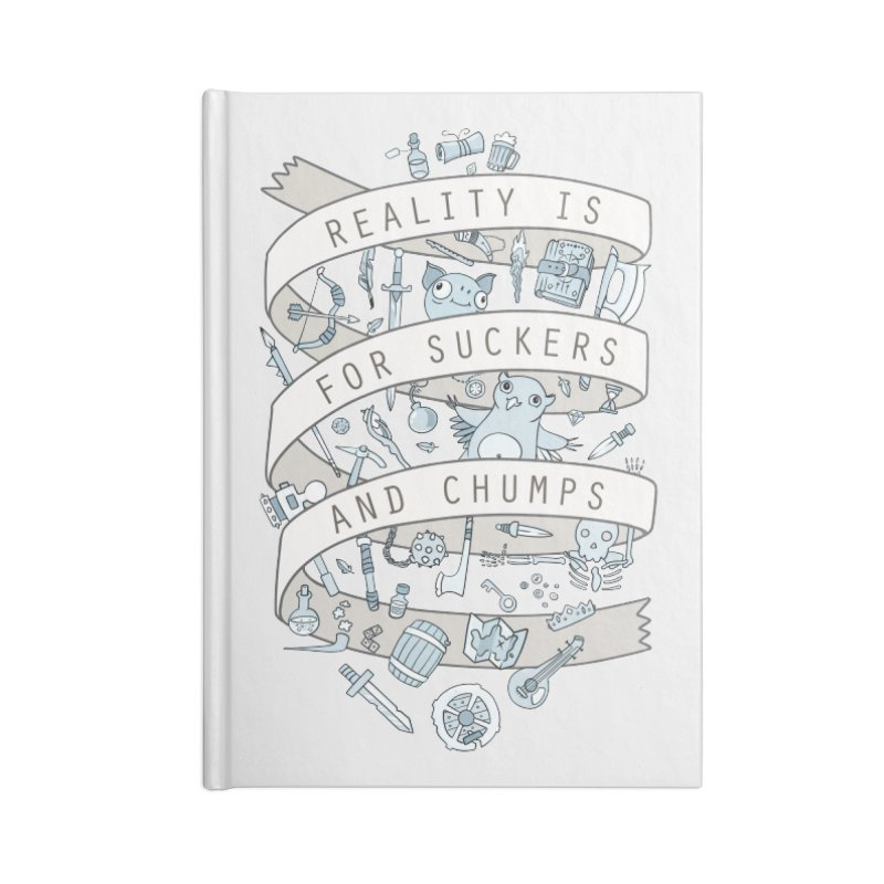 Fantasy is for Winners Accessories Notebook by Critical Shoppe