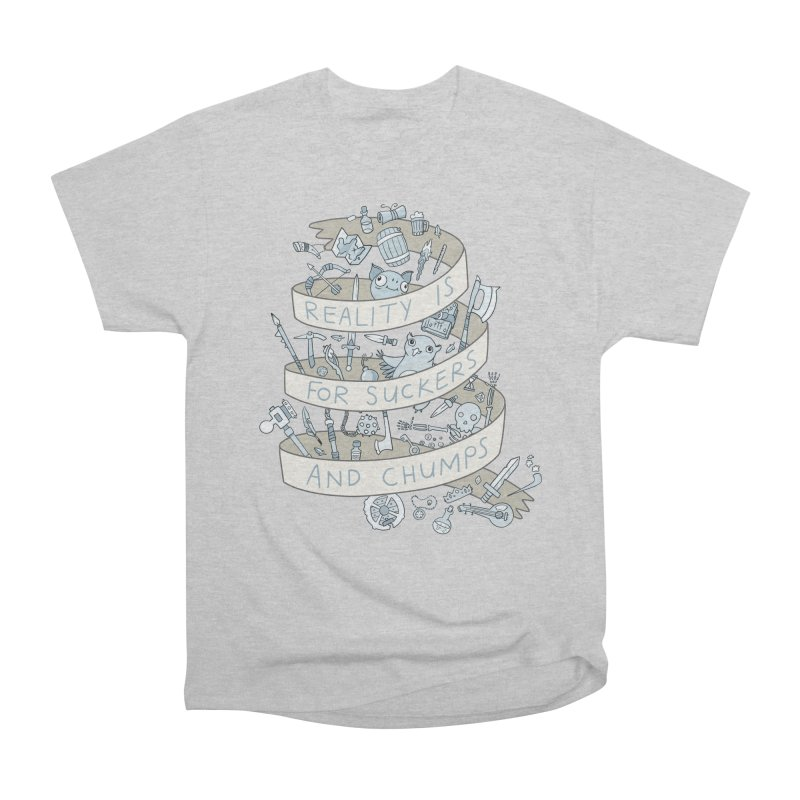 Fantasy is for Winners Men's Classic T-Shirt by Critical Shoppe