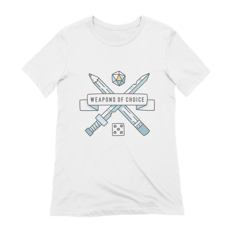 Weapons of Choice Women's Extra Soft T-Shirt by Critical Shoppe