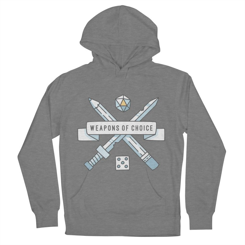 Weapons of Choice Men's French Terry Pullover Hoody by Critical Shoppe