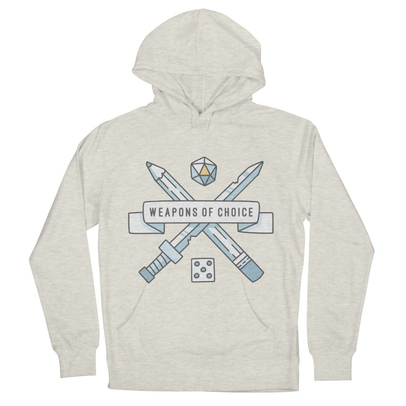 Weapons of Choice Men's Pullover Hoody by Critical Shoppe