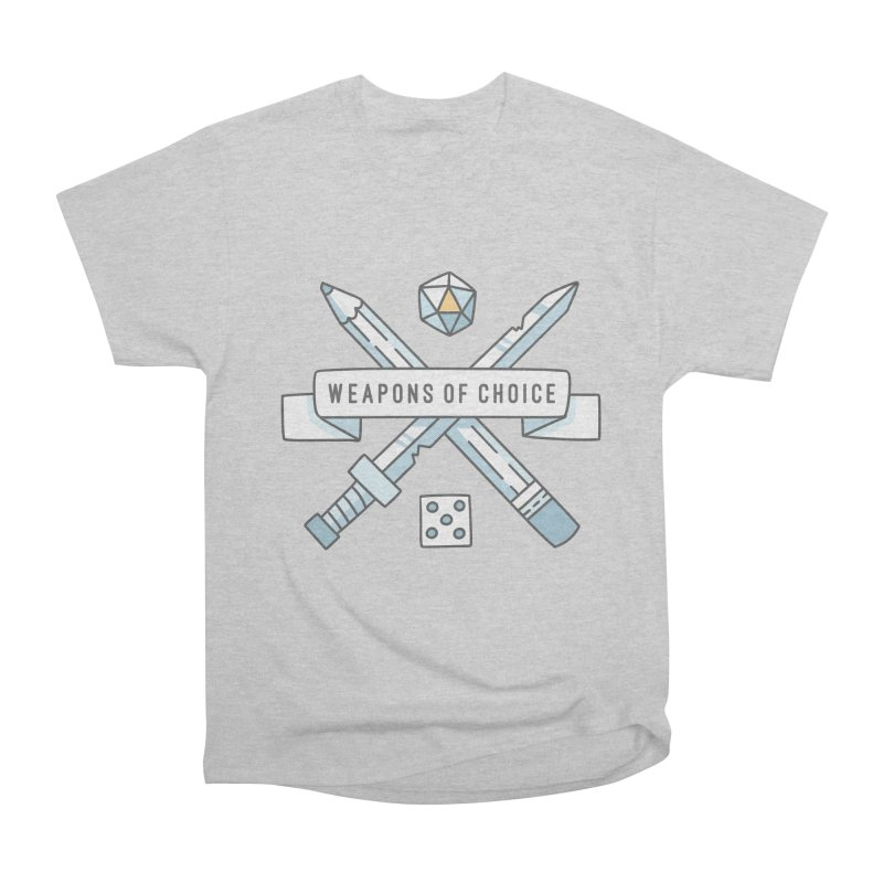 Weapons of Choice Men's Heavyweight T-Shirt by Critical Shoppe