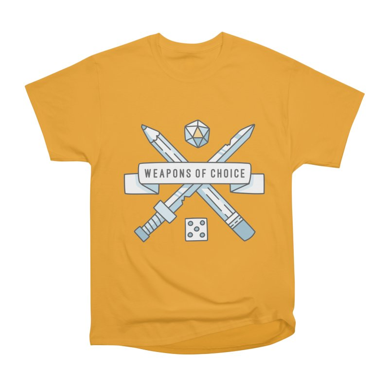 Weapons of Choice Men's Classic T-Shirt by Critical Shoppe