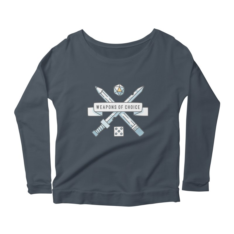 Weapons of Choice Women's Longsleeve T-Shirt by Critical Shoppe