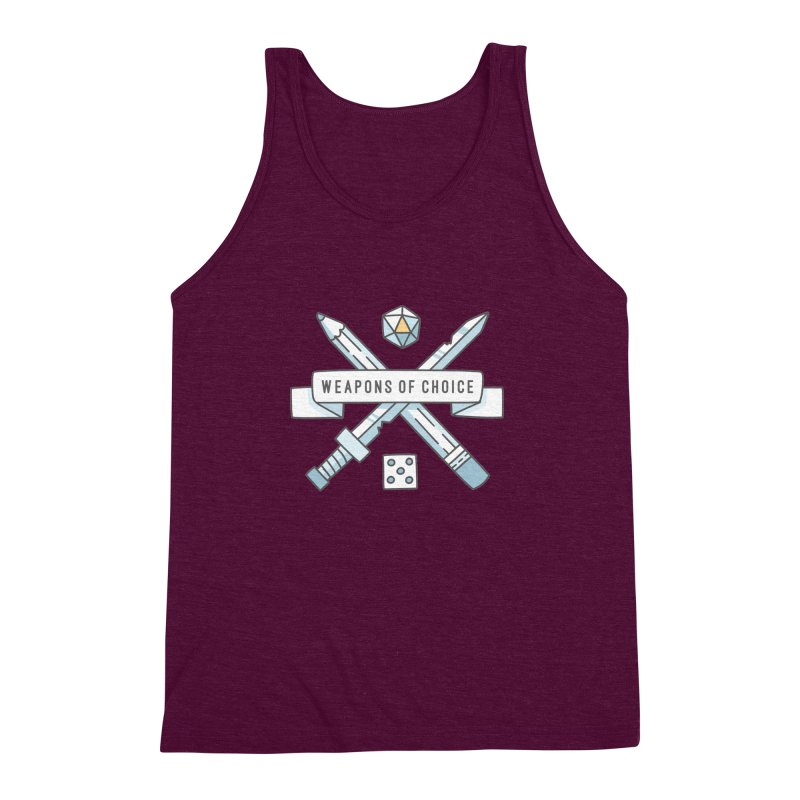 Weapons of Choice Men's Triblend Tank by Critical Shoppe
