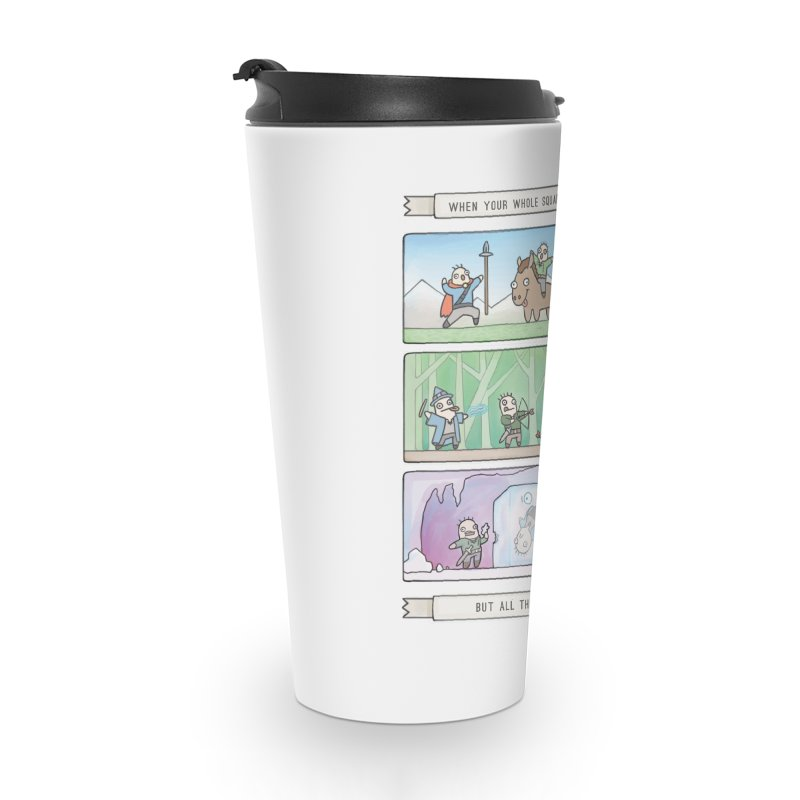 Derps n' Derps Accessories Travel Mug by Critical Shoppe