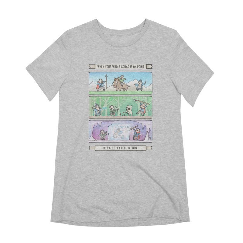 Derps n' Derps Women's Extra Soft T-Shirt by Critical Shoppe