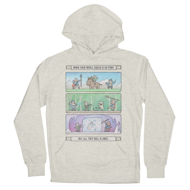 Derps n' Derps Men's French Terry Pullover Hoody by Critical Shoppe