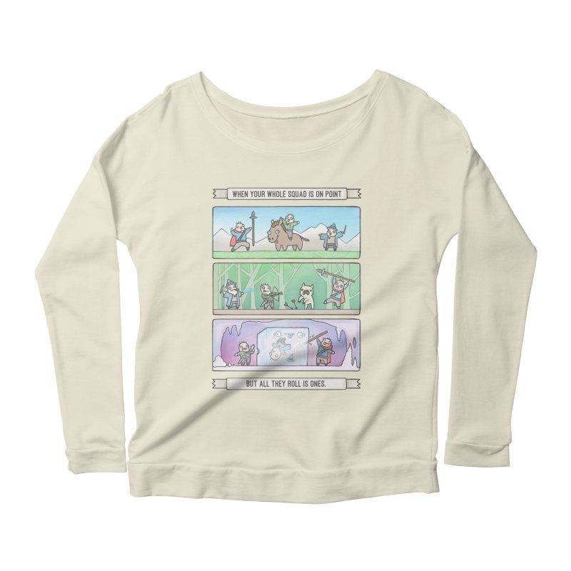 Derps n' Derps Women's Scoop Neck Longsleeve T-Shirt by Critical Shoppe