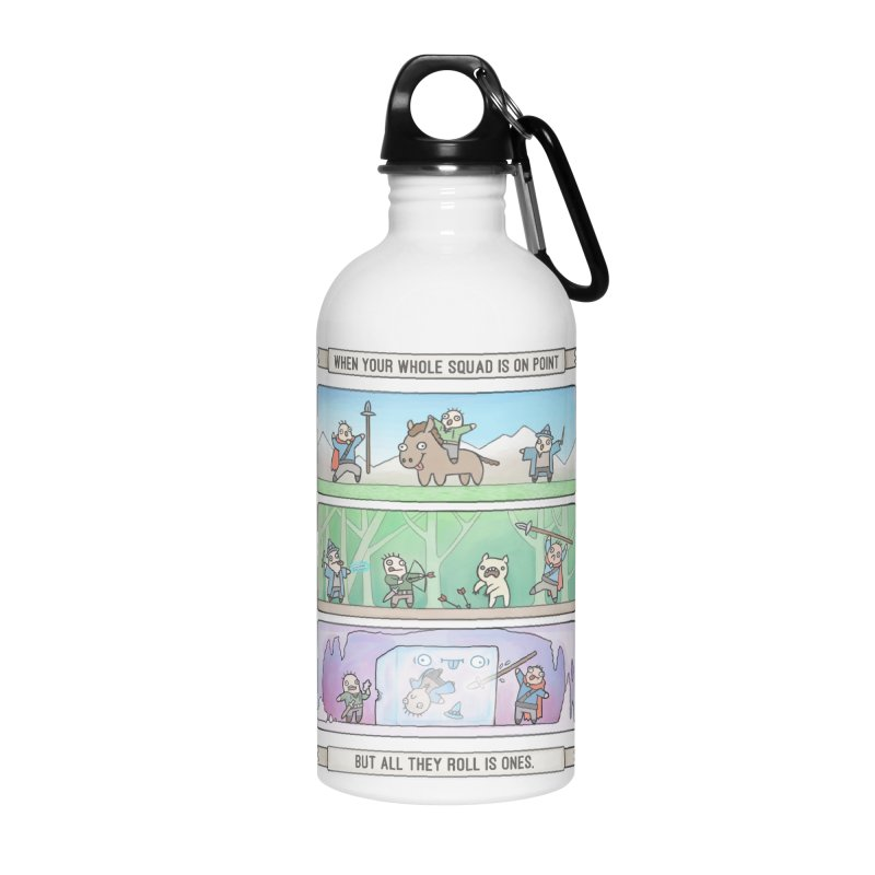 Derps n' Derps Accessories Water Bottle by Critical Shoppe