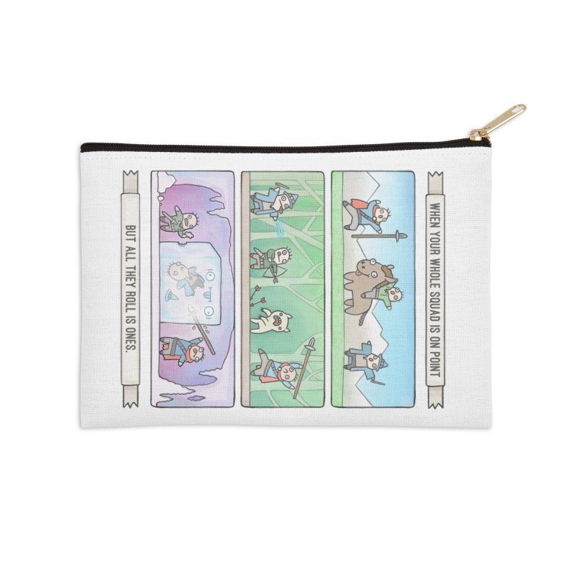 Derps n' Derps Accessories Zip Pouch by Critical Shoppe