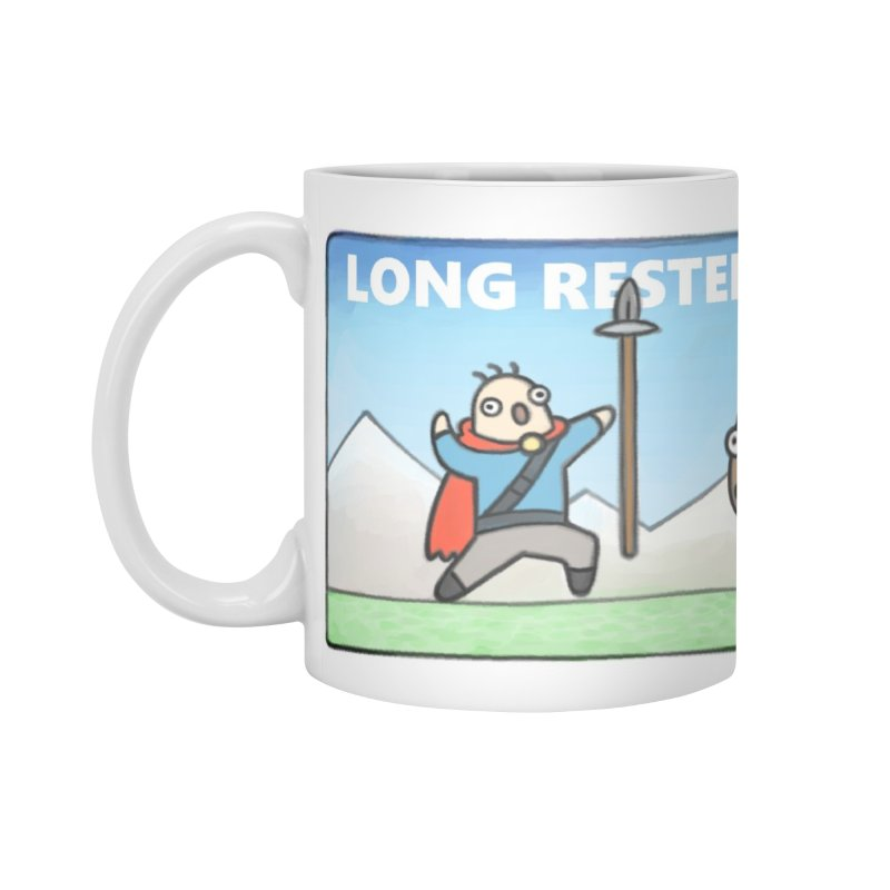 Long Rested in Standard Mug White by Critical Shoppe