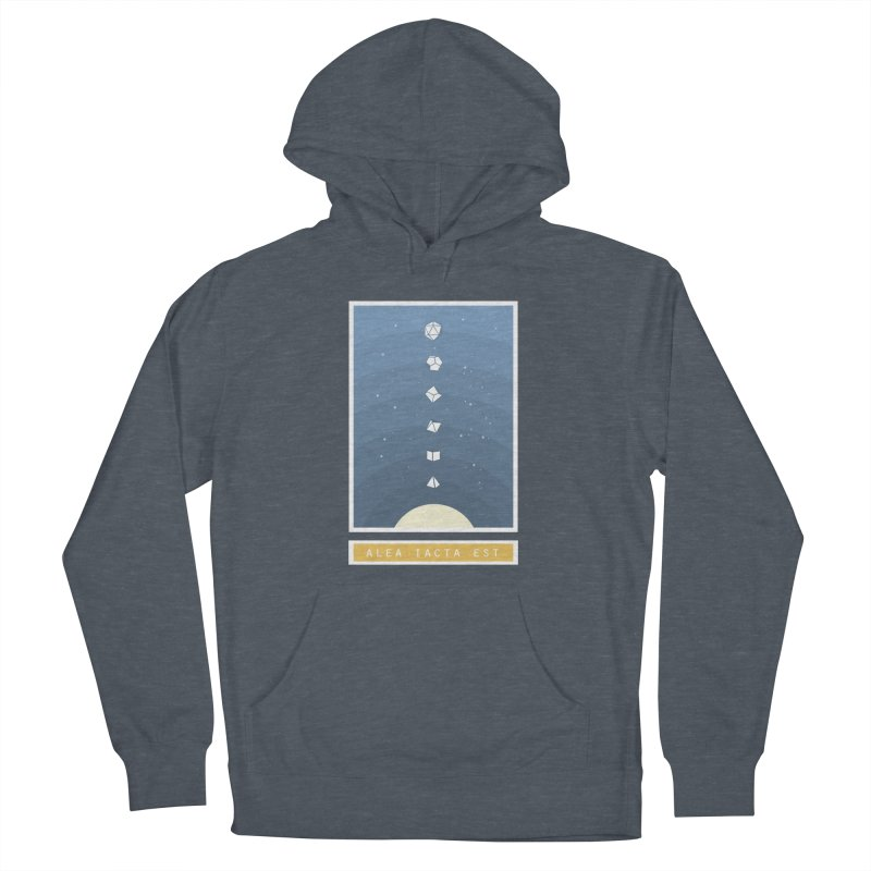 Many Sided System Men's French Terry Pullover Hoody by Critical Shoppe