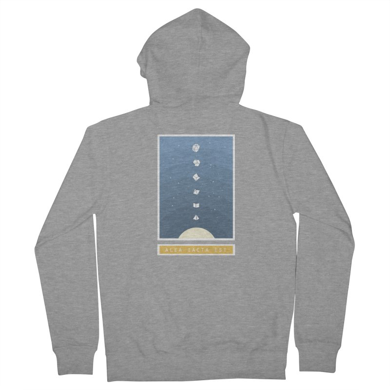 Many Sided System Men's French Terry Zip-Up Hoody by Critical Shoppe